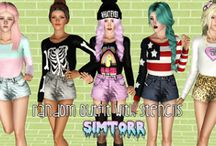   Sims Clothes~Accessories   / Clothes for sims / by Bethany Posey