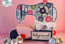 SEWING MACHINE SET - THE CUTTING CAFE