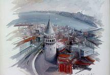 İstanbul çizim