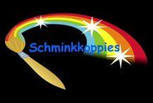 Leren Schminken stap voor stap. / Op dit bord staan 17 filmpjes met korte basis lesjes om het schminken onder de knie te krijgen. Natuurlijk is een echte cursus of workshop veel leuker. Daarvoor kan je terecht bij www.schminkkoppies.nl of mail naar info@schminkkoppies.nl