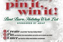 Boot Barn Holiday Wishlist