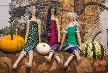 Игрушки ручной работы / Моё увлечение - шитьё кукол и игрушек