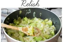 relish and sauce