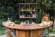 ✷ Wedding Table and Bar Settings / Lots of stylish inspirations to make a perfect wedding table or the best wedding bar out there.