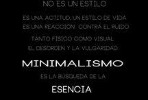 Citas Simples en español. / Frases originales o adaptadas acerca del minimalismo y la vida sencilla