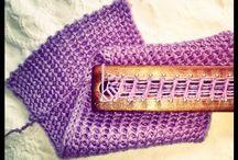 Mis puntos en Telar Maya / Loom Knitting / Puntos para tejer en telar
