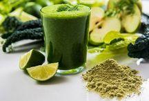 Fűlevek, algák / Fűlevek, algák, klorofill