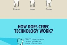 Crowns and Bridges / Crowns are typically used to restore a tooth's function and appearance following a restorative procedure such as a root canal, or when a tooth is broken or weakened by large decay.