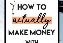 Make Money/ Side Hustles / Make extra money from home.