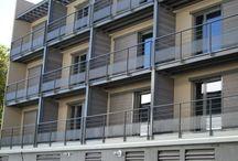 Garde-corps JANDARD METALLERIE / La métallerie serrurerie JANDARD, à proximité de Lyon est spécialisée dans la conception des équipements de protection des personnes et des bâtiments.  Nous travaillons l'Inox, l'acier ainsi que l'aluminium pour fabriquer des gardes-corps, échelles à crinolines, passerelles, batardeaux, trappes, escaliers, et tous autres équipements qui garantissent votre sécurité.