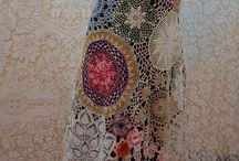 háčkované sukné