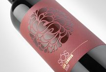 Red Wine Labels / by Courtney Holmes | Talk is Sheep Marketing