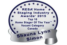 Home Staging Awards / Honours and Awards we've received