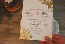 foil wedding