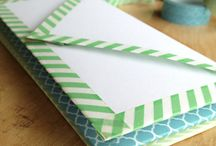 washi tape / what you can do with washi tape