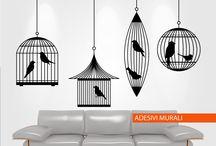 Adesivi Murali / adesivi murali - in stampa digitale e vinile prespaziato acquistabili direttamente dal nostro negozio online: http://www.santorografica.com/shop/71-adesivi-murali