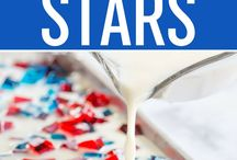 Fourth of July Fun / Our favorite activities, decorations, and snacks for celebrating the 4th with little ones. Older siblings can help make decorations to brighten a baby's NICU space, and NICU graduates can enjoys red, white, and blue activities and snacks. Happy  Independence Day!