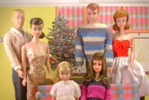 Barbie & Friends / Barbie and her friends — the way they used to be. With a little help from authentic reproductions when needed. / by Sandy Weinstein