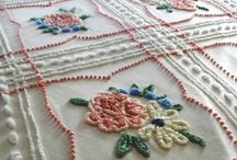 CHENILLE AND VINTAGE BEDSPREADS