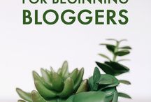 Blogging - Growing your Audience / Advice and tips for bloggers on growing your audience and increasing your traffic and page views.