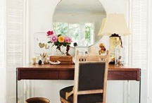Nooks, vignettes & accessory arranging / by Hilary Timmons
