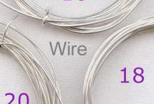 wire and beads