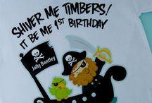 Santino - 1st Birthday Pirates / by Lisette Madrid
