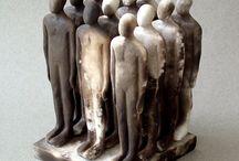 Sculpture groupe