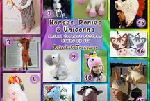 Cavalli - Horses Crochet