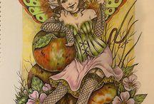 Coloring: Linda Ravenscroft