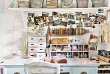 Home office / by Sandra Rosemarie Viggers