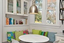 corner dining place