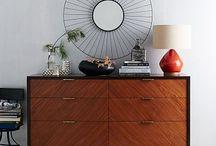 My bedroom / It's from my own bedroom.   #design // #interior // #midcentury