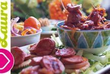 Healthy Appetizers♥Botanas Saludables♥Healthy Snacks / Ideas para preparar deliciosas Botanas, snacks y Appetizers facilmente light y saludables .