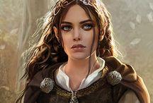 Fantasy RPG character inspiration