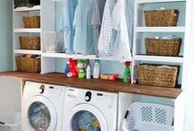 Laundry room ideas / by Robin Parsons
