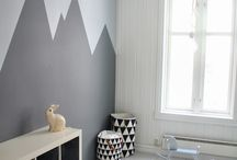 Wall painting shapes