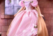 Barbie and Disney Princess Gowns Reference