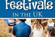 Festivals with kids / Going to festivals with the children, family friendly festivals, tips for taking children to festivals. Ideas for festivals with children and nice things for when you're there