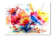 Flowers / Watercolor paintings