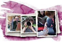 6.lk valokuva, joukkoviestintä / Vuoden teemana erilainen näkökulma / kurkistus - kriittinen suhtautuminen joukkoviestintään - esineen muodolla hulluttelu  - videointi