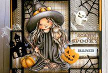 Halloween cute handmade cards
