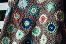 pieceras cobertores crochet
