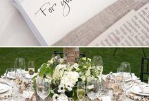 """Wedding theme book / Alla ricerca di idee per un matrimonio a tema """"libri""""? Io ho raccolto qui le più interessanti idee. #wedding#book#tema libri#libri#matrimonio tema libri"""