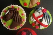 galletas/cupcakes caballos