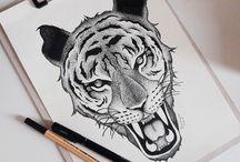 Meus Desenhos / Quer me ver no instagram? só ir em @_eearts