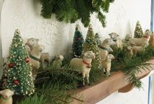 Country Christmas / Decorating Ideas for a Country Christmas