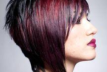Frisuren und Make up