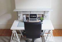 Home office / A importância de se manter um escritório em casa organizado vai além da questão estética, auxiliando também na concentração e aumentando a produtividade!