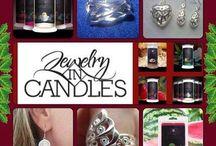 Jewelry in Candles / www.alyciasjic.com / by Alycia Tanner